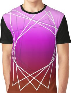 Geometric sunset Graphic T-Shirt