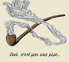 ceci n'est pas une pipe by oliviero
