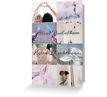 Aline Penhallow and Helen Blackthorn  Greeting Card