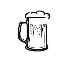 drinking beer booze handle Photographic Print