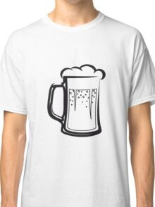drinking beer booze handle Classic T-Shirt