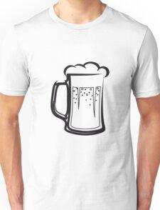 drinking beer booze handle Unisex T-Shirt