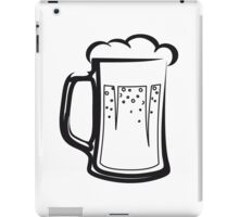 drinking beer booze handle iPad Case/Skin