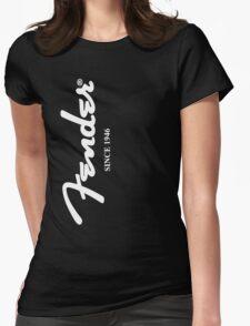FENDER T SHIRT Womens Fitted T-Shirt