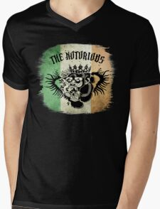 McGregor Tat - Tri Colour Mens V-Neck T-Shirt