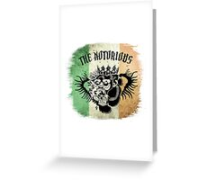 McGregor Tat - Tri Colour Greeting Card