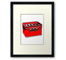 drink drinking beer thirst box Framed Print