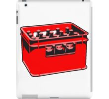 drink drinking beer thirst box iPad Case/Skin