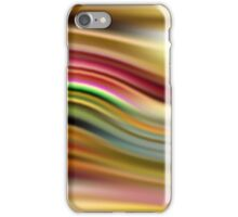 Abstract modern wavy background iPhone Case/Skin