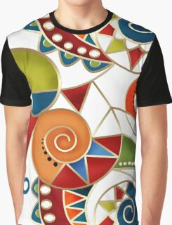 Seamless Abstract ethnic ornament. Graphic T-Shirt
