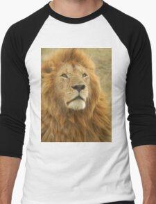 Wild Lion Men's Baseball ¾ T-Shirt
