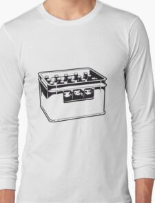 drink drinking beer thirst box Long Sleeve T-Shirt