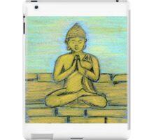 Sitting Buddha iPad Case/Skin