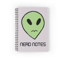 Peridot Alien 'Nerd Notes' Notebook Spiral Notebook