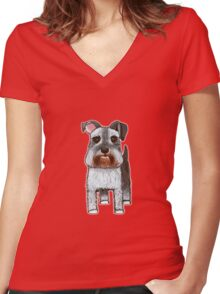 Mr. Fritz - Especially made for Katy Women's Fitted V-Neck T-Shirt