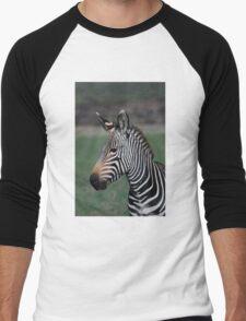 Zebra Style Men's Baseball ¾ T-Shirt