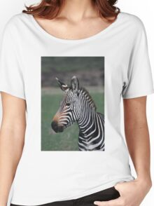 Zebra Style Women's Relaxed Fit T-Shirt