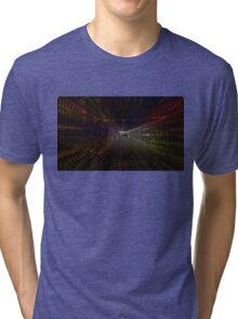 alien ship headed to your local grocer Tri-blend T-Shirt