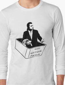 Pulp Fiction Vincent Vega Confused No Money Wallet Long Sleeve T-Shirt