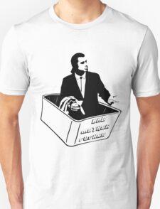 Pulp Fiction Vincent Vega Confused No Money Wallet Unisex T-Shirt