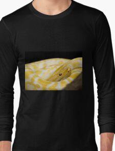 Yellow Snake Long Sleeve T-Shirt