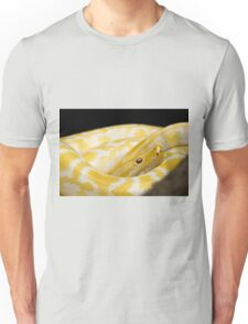 Yellow Snake Unisex T-Shirt
