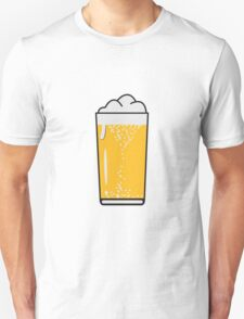 Drinking beer drinking beer glass Unisex T-Shirt