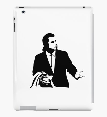 Pulp Fiction Vincent Vega Confused iPad Case/Skin