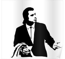 Pulp Fiction Vincent Vega Confused Poster