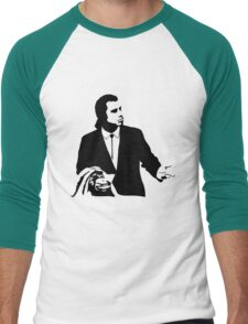 Pulp Fiction Vincent Vega Confused Men's Baseball ¾ T-Shirt