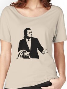 Pulp Fiction Vincent Vega Confused Women's Relaxed Fit T-Shirt