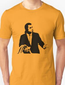 Pulp Fiction Vincent Vega Confused Unisex T-Shirt