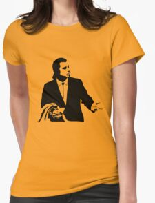 Pulp Fiction Vincent Vega Confused Womens Fitted T-Shirt