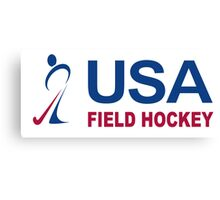 Team USA Field Hockey Canvas Print