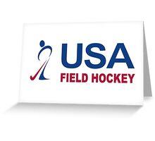 Team USA Field Hockey Greeting Card