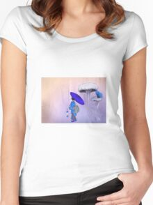 Geisha Style Women's Fitted Scoop T-Shirt