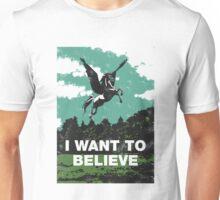 I want to believe (in unicorns) Unisex T-Shirt