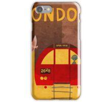 Tube Train iPhone Case/Skin