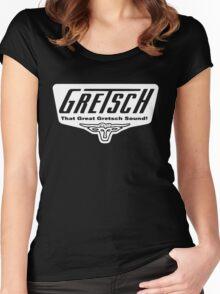 GRETSCH GUITAR Women's Fitted Scoop T-Shirt