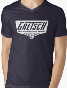 GRETSCH GUITAR Mens V-Neck T-Shirt