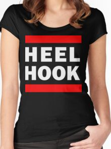 Heel Hook (BJJ & MMA) Women's Fitted Scoop T-Shirt