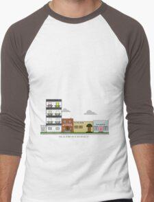 Home Town - Main Street Men's Baseball ¾ T-Shirt