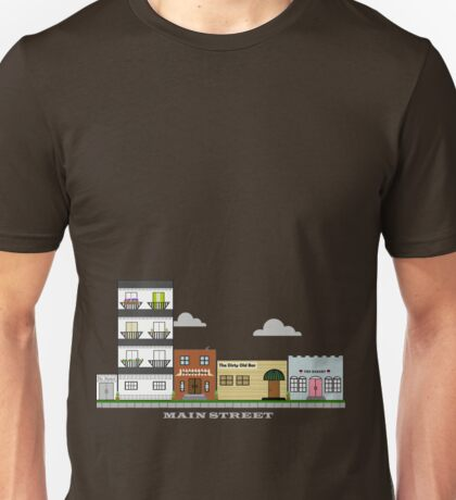 Home Town - Main Street Unisex T-Shirt