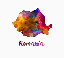 Romania in watercolor Unisex T-Shirt