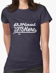 DJ Kool Herc 1973 [wht] Womens Fitted T-Shirt