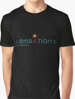 Liberation's Logo Graphic T-Shirt