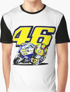 Valentino Rossi baby supporter Graphic T-Shirt