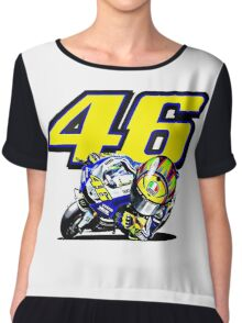 Valentino Rossi baby supporter Chiffon Top