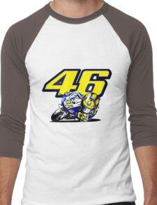 Valentino Rossi baby supporter Men's Baseball ¾ T-Shirt