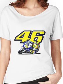 Valentino Rossi baby supporter Women's Relaxed Fit T-Shirt